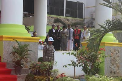 Kakankemenag Tanjungbalai Pimpin Doa HUT Kemerdekaan RI Ke-73