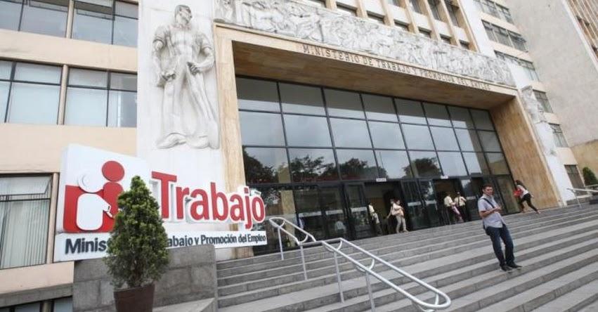 Evalúan autorizar adelanto de vacaciones por estado de emergencia, informó la Ministra de Trabajo, Sylvia Cáceres