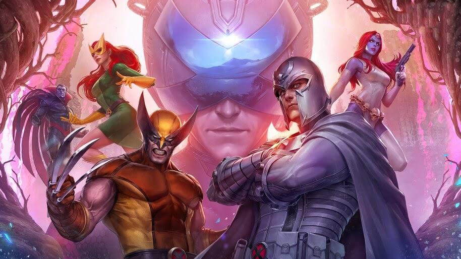 Magneto, Wolverine, Jean Grey, Mr. Sinister, Marvel, Comics, 4K, #6.2114