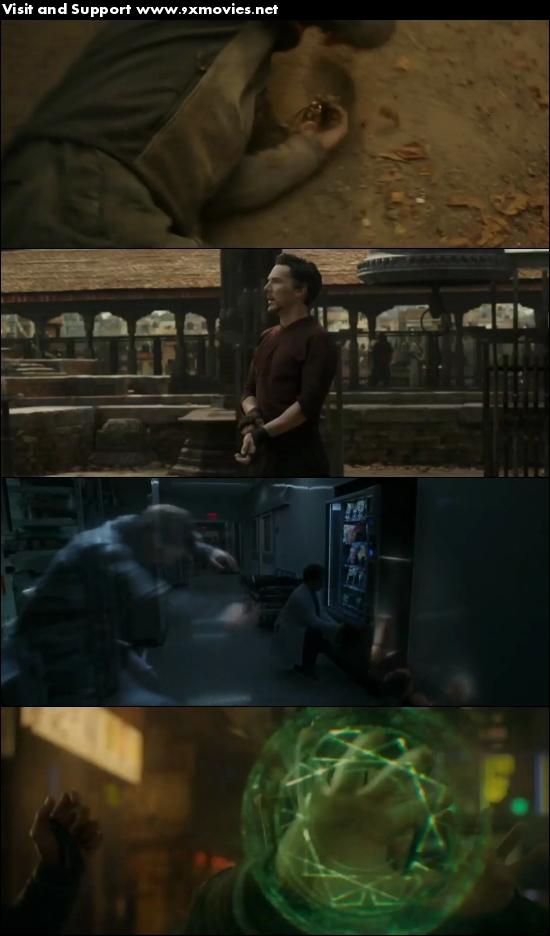 Doctor Strange 2016 English 720p HC HDRip
