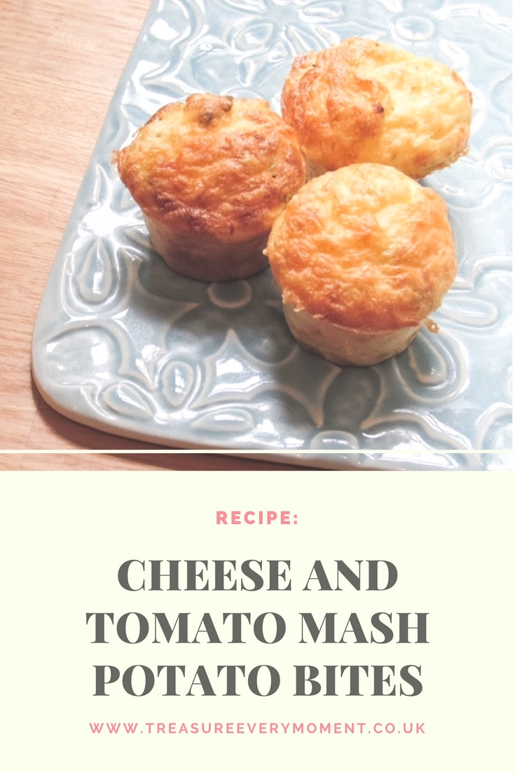 RECIPE: Cheese and Tomato Mash Potato Bites