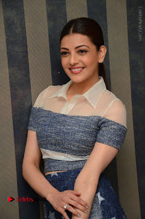 Actress Kajal Agarwal Latest Stills at Khaidi No 150 Movie Interview  0101.JPG
