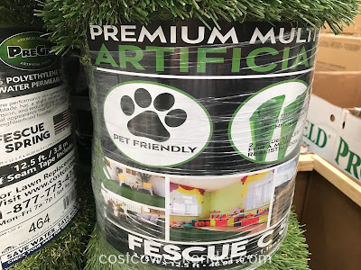 Costco 1184859 - PreGra Fescue Artificial Turf looks like the real thing