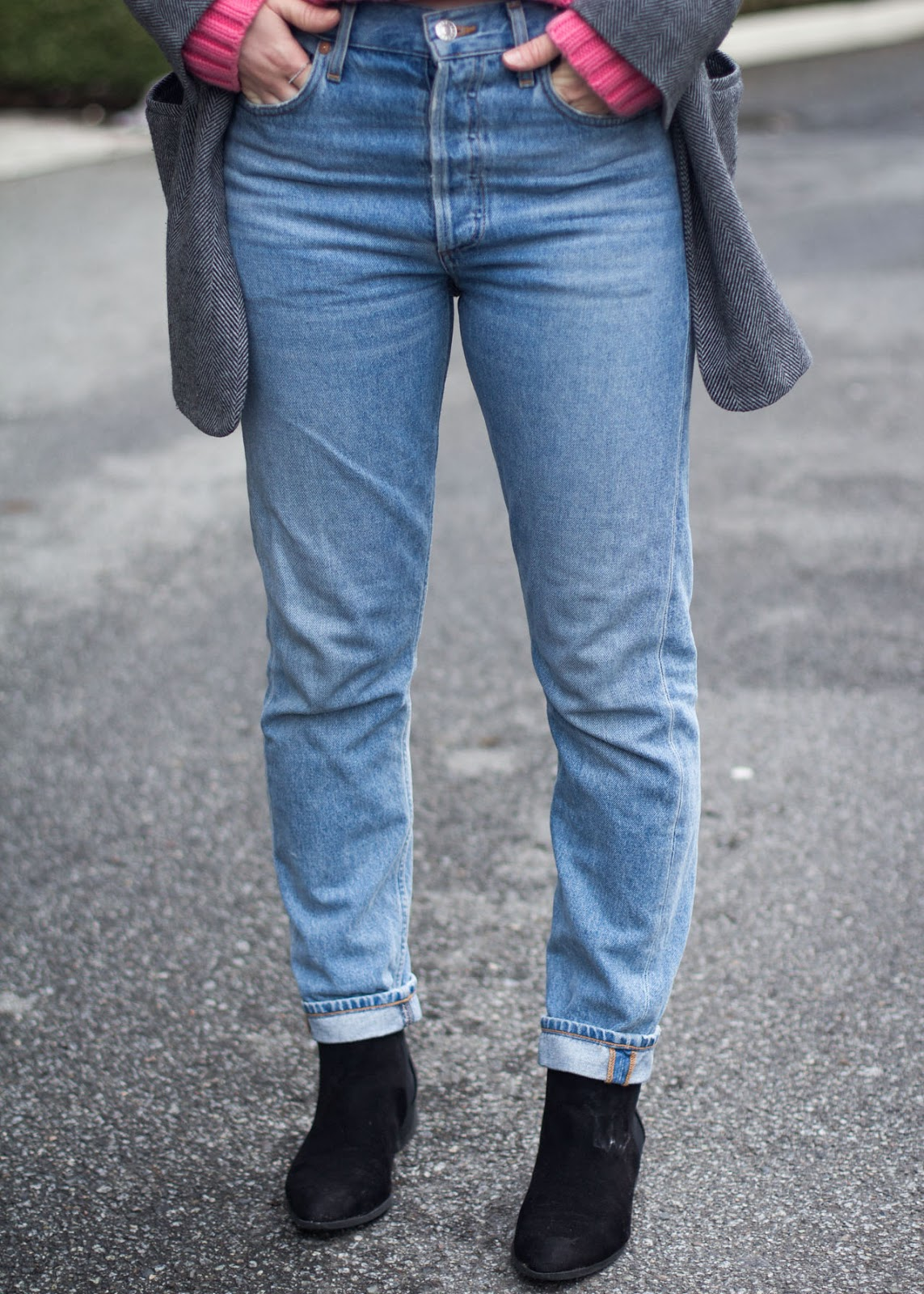 Favorite denim jeans - AGOLDE jamie brooklyn - Vancouver Fashion Blogger