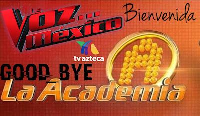 La Voz México de Televisa a Azteca