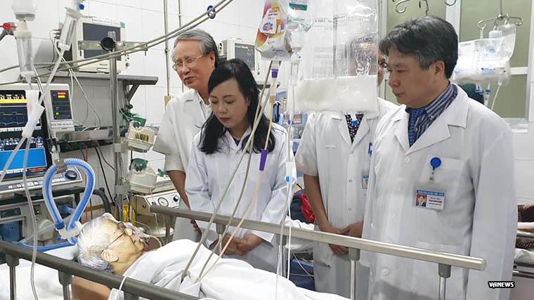Image result for ông nguyễn phú trọng nhập viện