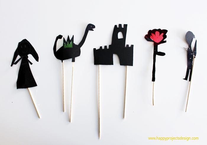 DIY teatro de sombras Sant Jordi