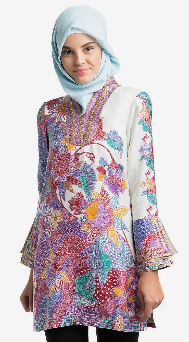620+ Model Baju Batik Gaun HD