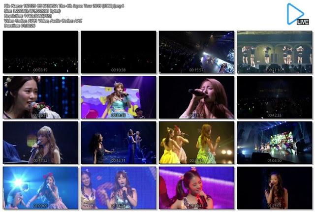 [Show] 160129 CSTV KARA The 4th Japan Tour 2015 KARASIA