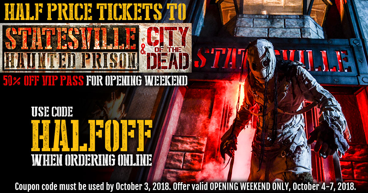 Half Off Tickets