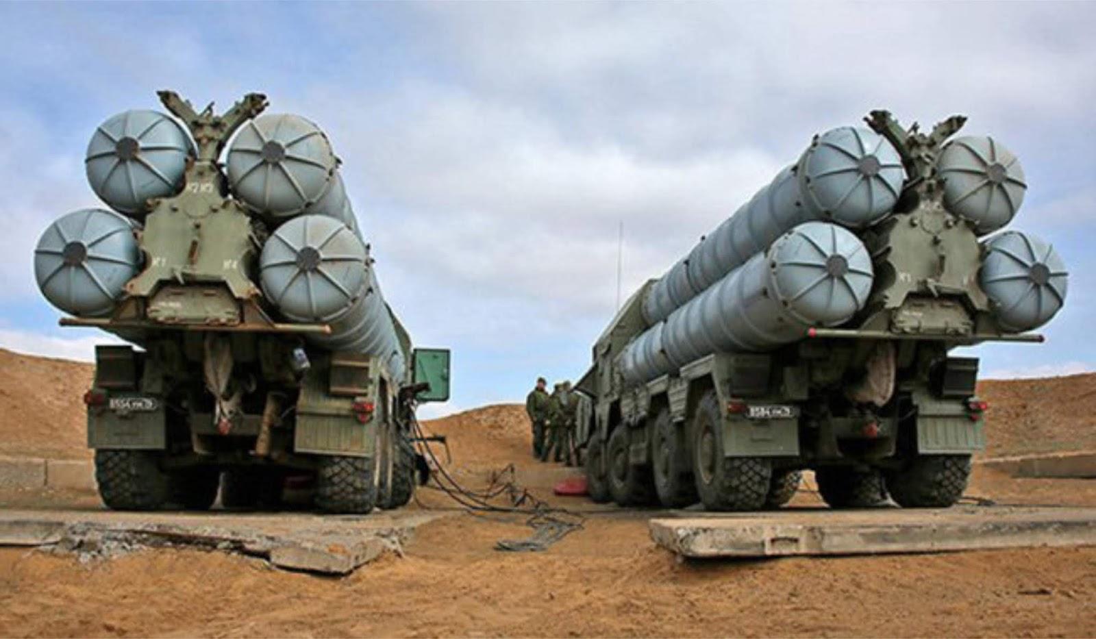 Sistem pertahanan udara S-300 sudah datang ke Suriah