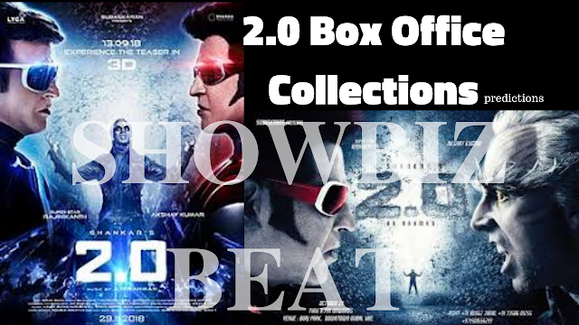 2 0 box office collection first day