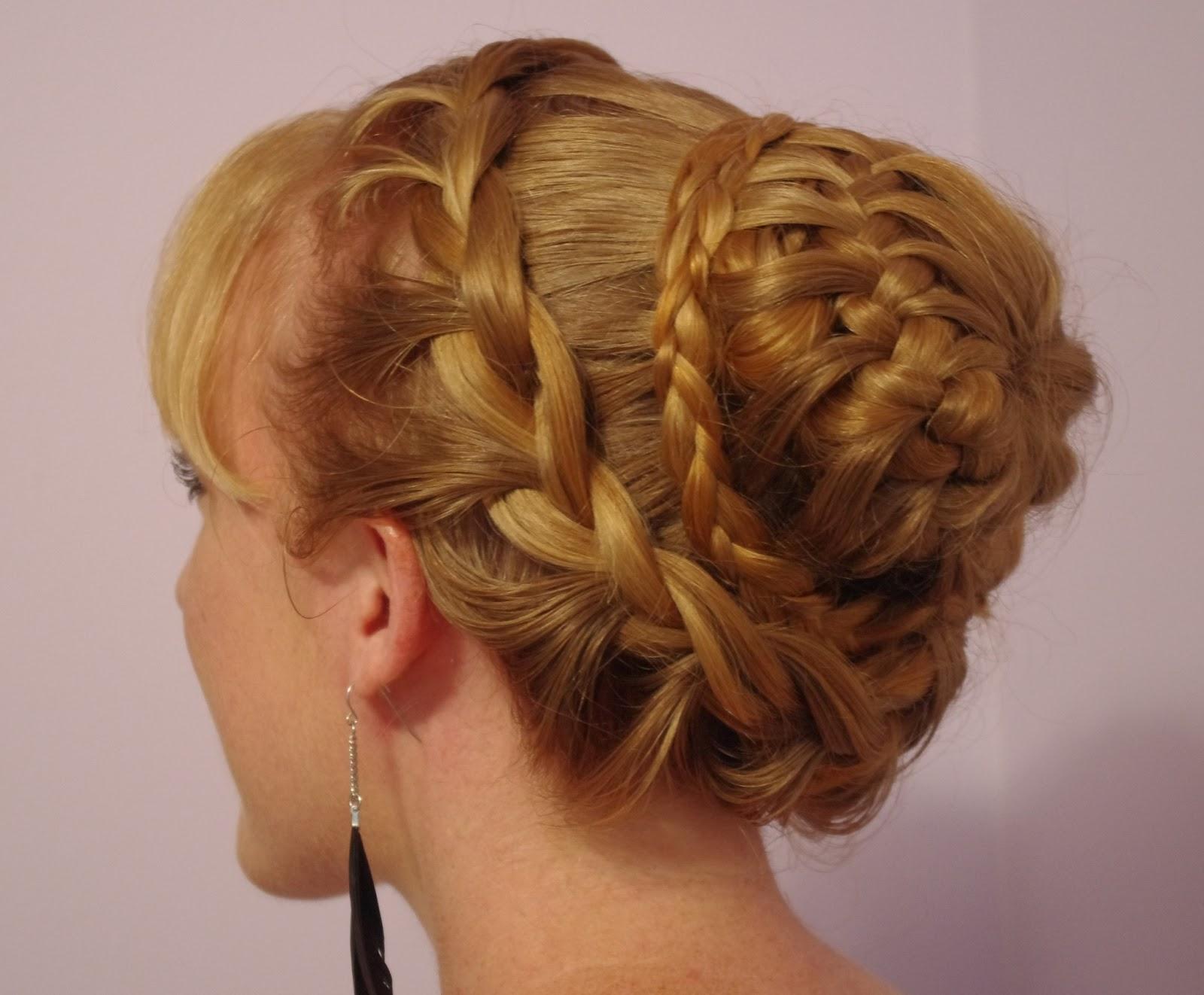 Pleasant Braids Amp Hairstyles For Super Long Hair Fancy Braided Bun Hairstyles For Women Draintrainus