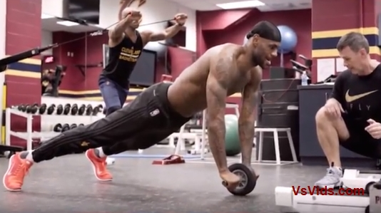 LA Lakers LeBron James vs. How He Spends Millions On His Body