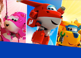 Super Wings: Free Printable Candy Bar Labels.