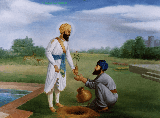 Guru Har Rai Ji Seventh Sikh Guru Photo Images Wallpapers