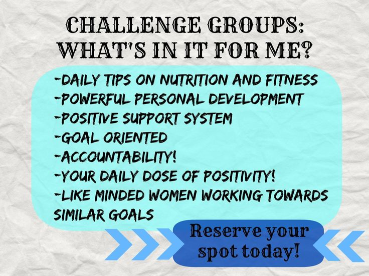 best website 2dde6 6c9c8 Why join a Challenge Group