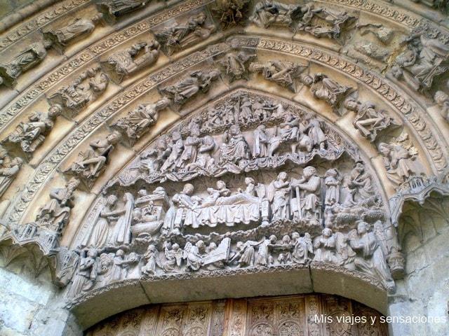 Puerta de San Juan, la Catedral de León