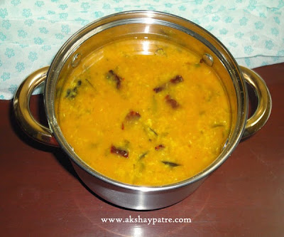 moong dal amti ready to serve