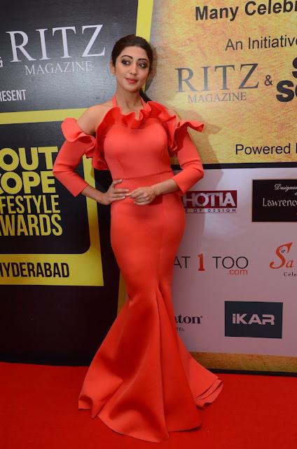 Pranitha photos at South Scope Life Style Awards 2016