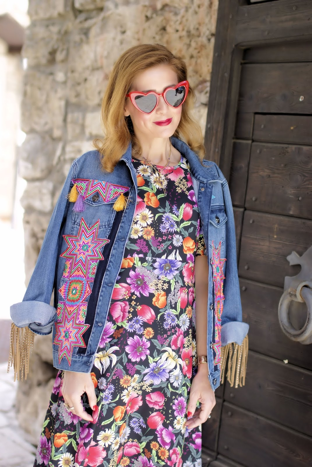Welcome July! hippy glam on Fashion and Cookies fashion blog, fashion blogger style