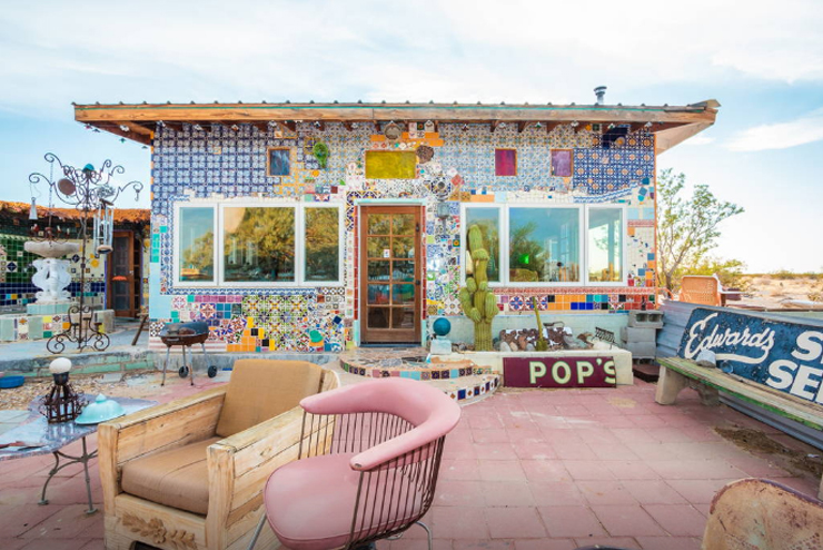 10 Airbnbs That Are So Cool You'll Want To Stay Forever - Tile House, Twentynine Palms, CA, United States
