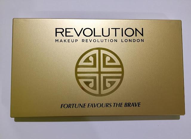 Makeup revolution Fortune Favours the Brave paleta
