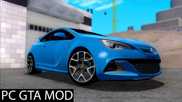 Free Download  Vauxhaul Astra VXR  Mod for GTA San Andreas.