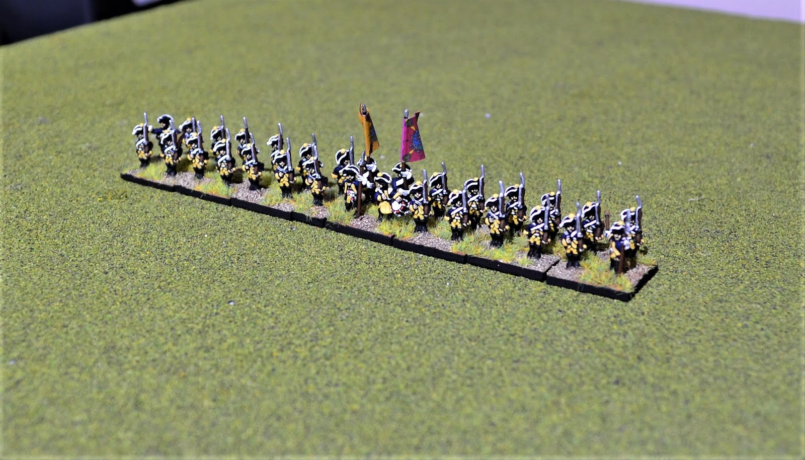 Grymauch's Solo Wargaming Blog : On the Workbench: 10mm AWI