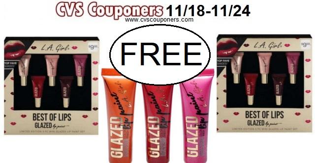 http://www.cvscouponers.com/2018/11/free-la-girl-holiday-gift-sets-cvs.html