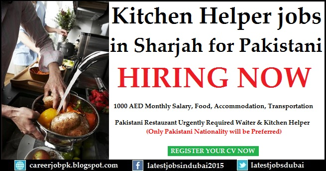 Kitchen Helper jobs in Dubai