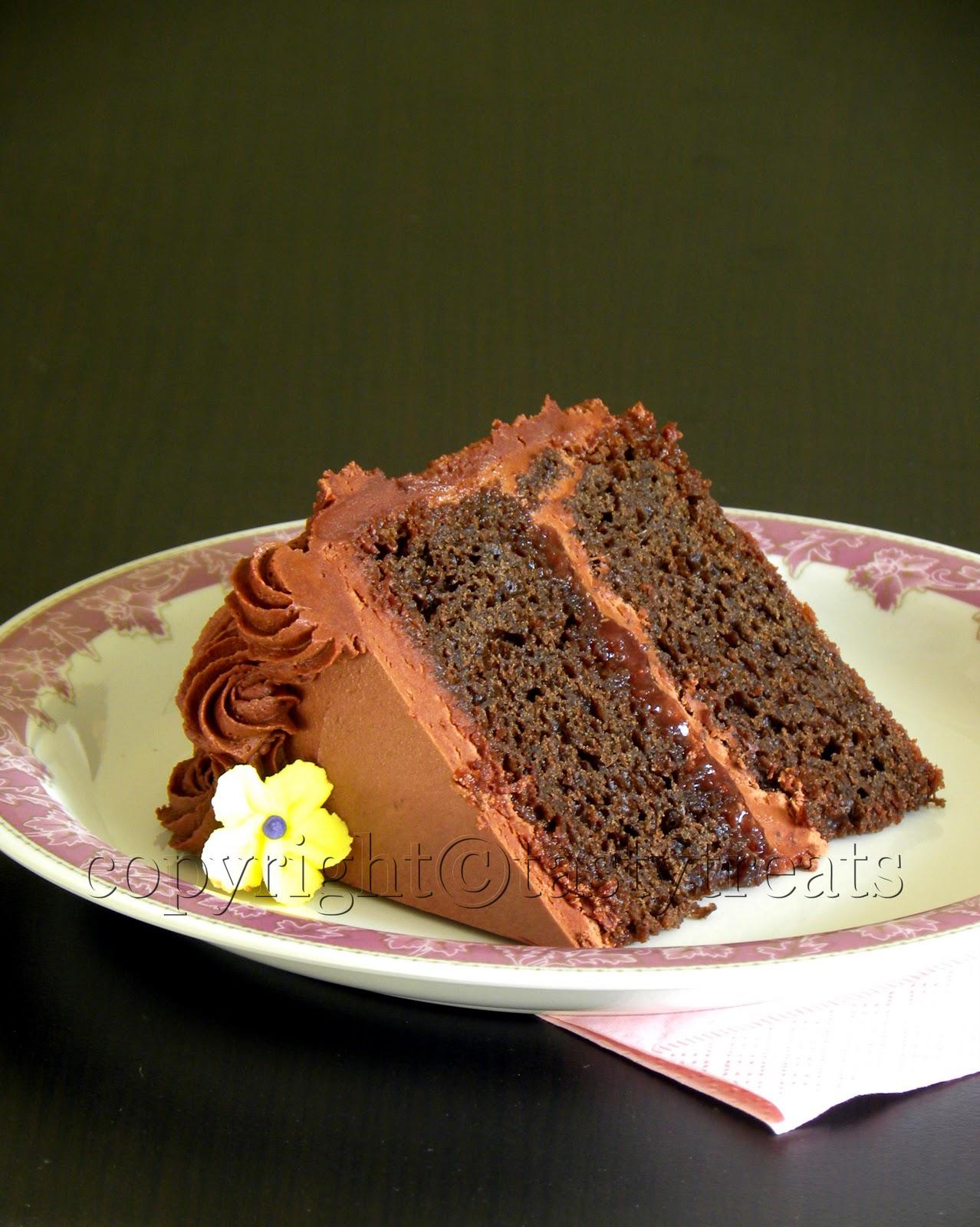 Chocolate Cake Icing Tarla Dalal