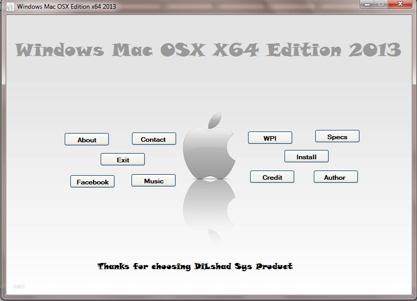 x86 or x64 windows 7 on mac
