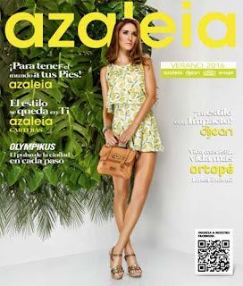 Catalogo Azaleia verano 2016 calzado para Damas
