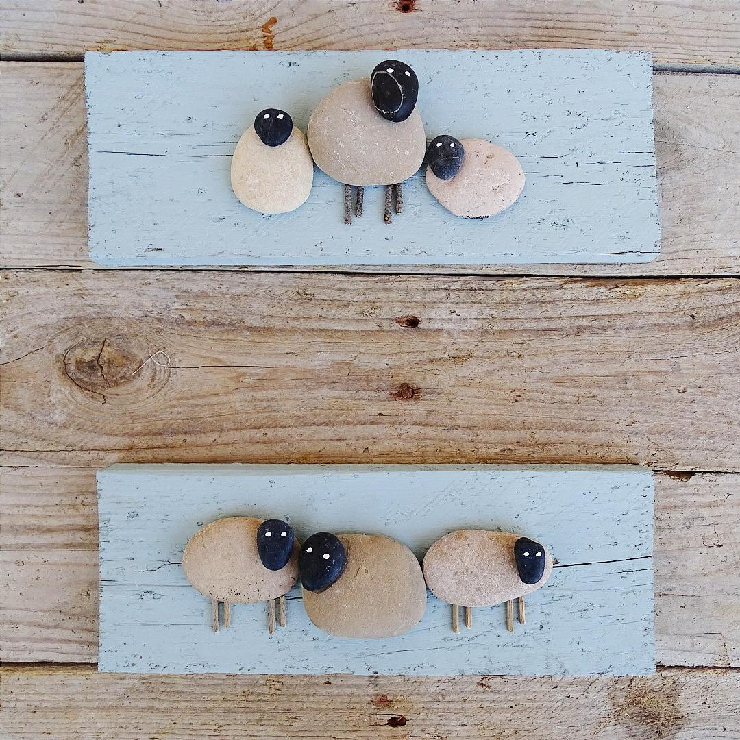 Turquesasyperlas cuadros hechos con piedras - Cuadros hechos con piedras ...