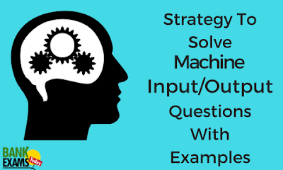 Strategy to Solve Machine Input Output Questions With Examples