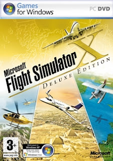 Microsoft Flight Simulator X Deluxe Edition - PC (Completo)