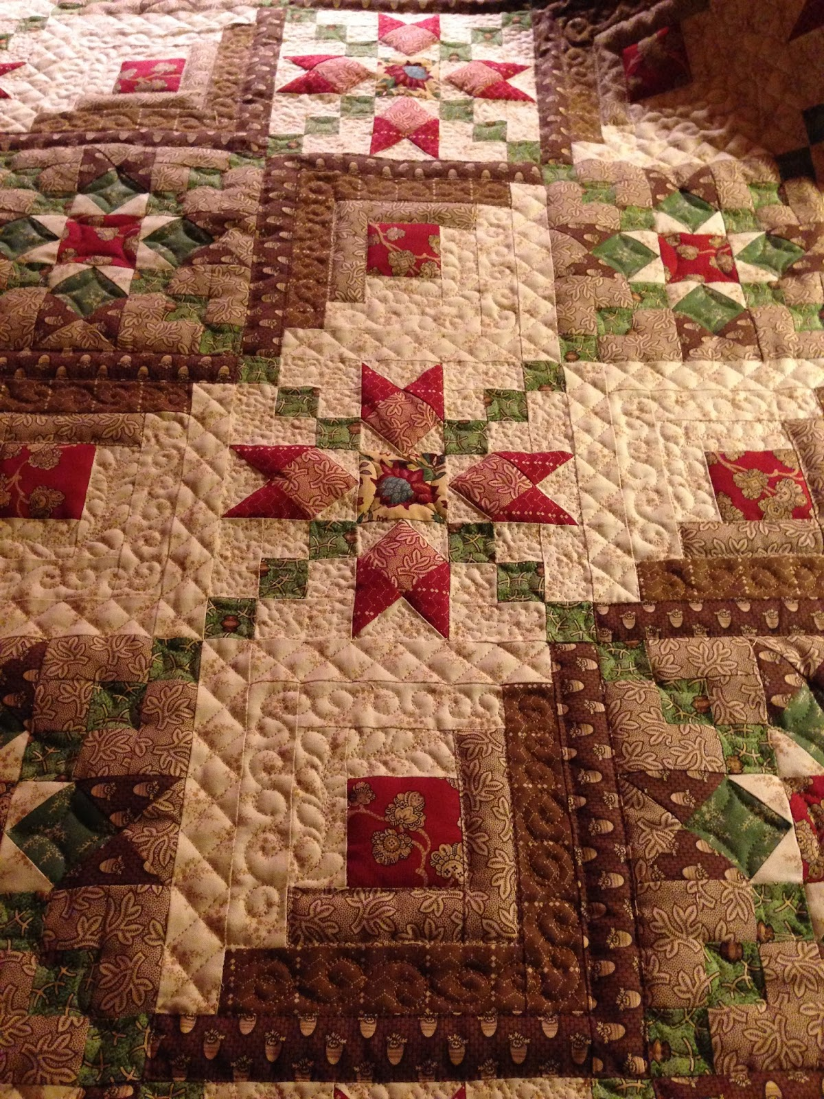 Sew n wild oaks quilting miles of binding
