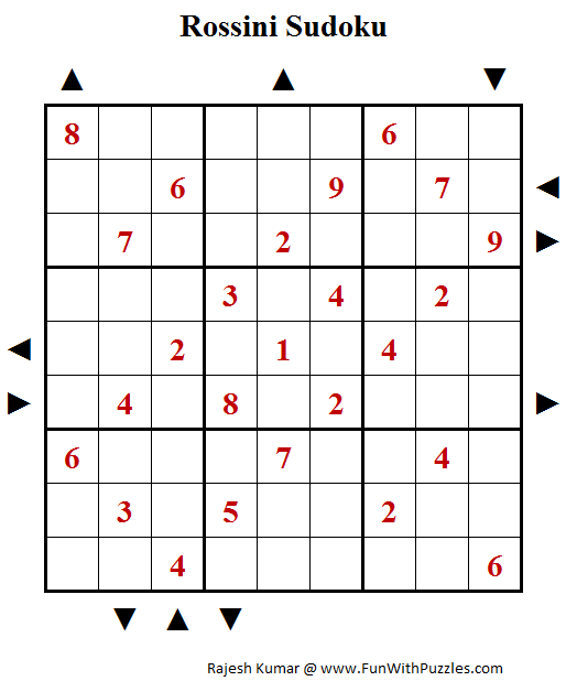 Rossini Sudoku (Fun With Sudoku #29)