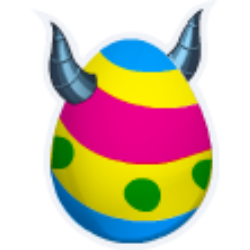 Appearance of Eggster Dragon when egg