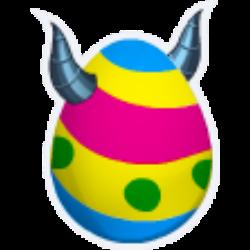Das Erscheinen des Ei Eier Drache