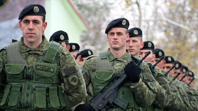 La OTAN se opone al plan de Kosovo para crear su propio ejército