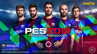 PES 2018 Mobile v2.0.0 Android