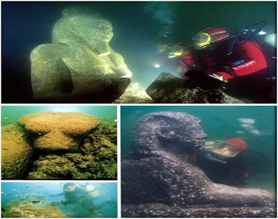 Submerged%2BWonders%2Bof%2BAlexandria%252C%2BEgypt  7 Monumen Misterius di Dunia