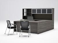 Cherryman Amber Valley Gray Office Furniture