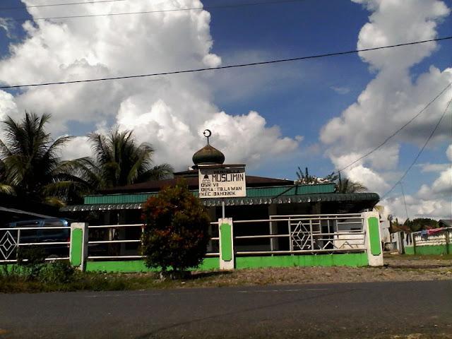 Musholla Muslimin di Timbang Lawan Bahorok Langkat Sumatera