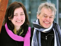 May-Britt Moser and Edvard Moser
