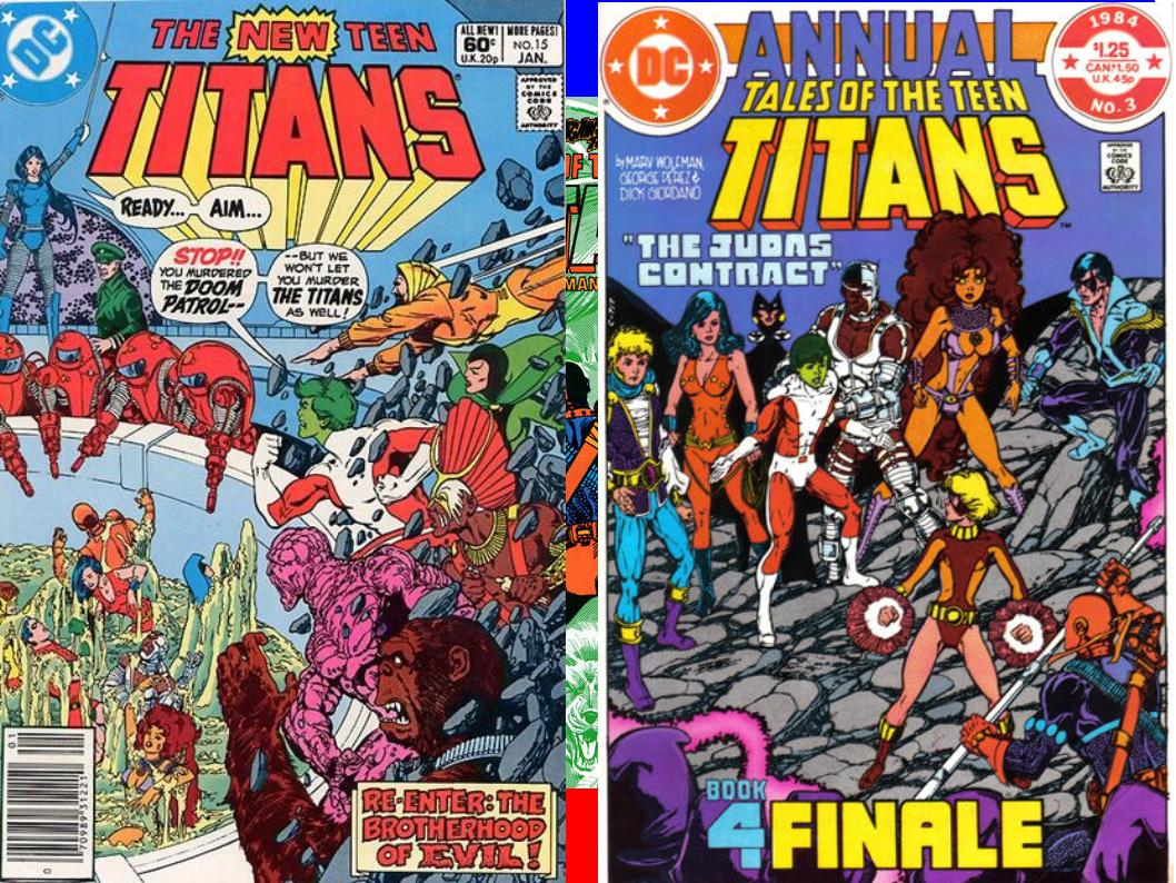 Dave's Comic Heroes Blog: Titans Together