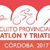 Las 5 pruebas del Circuito de Triatlón de Córdoba