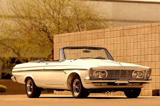 1963 Plymouth Sport Fury Convertible Front Right